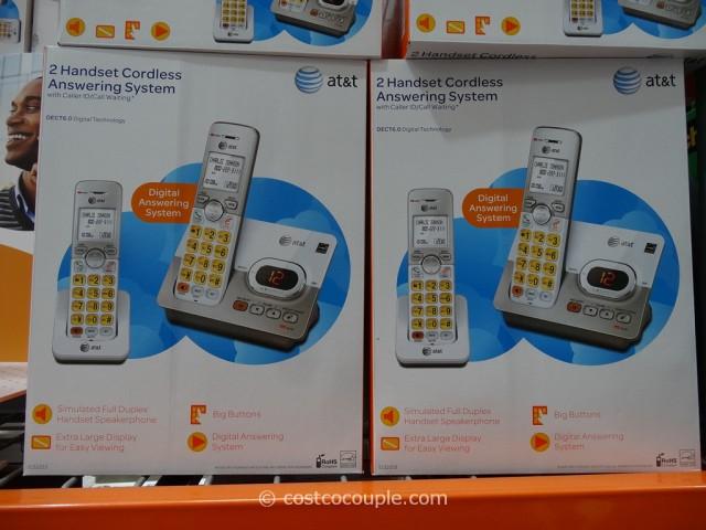 AT&T Cordless Phone Set EL52253 Costco 3