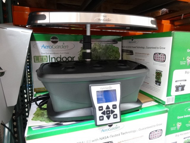 AeroGarden Ultra LED Soil Free Indoor Garden Costco 6