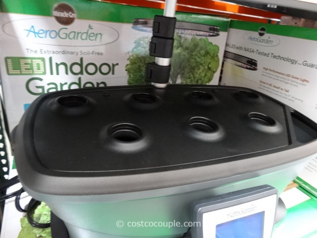 AeroGarden Ultra LED Soil Free Indoor Garden Costco 7
