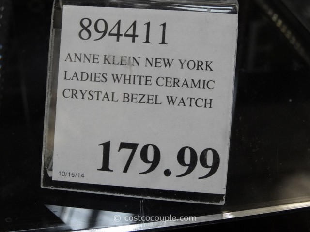 Anne Klein New York Ladies White Ceramic Watch Costco 1
