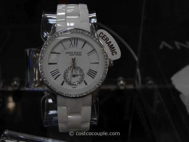 Anne Klein New York Ladies White Ceramic Watch Costco 2