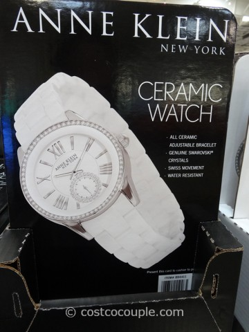 Anne Klein New York Ladies White Ceramic Watch Costco 3