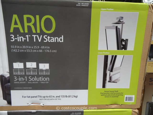 Bayside Furnishings Ario 3 In 1 Tv Stand
