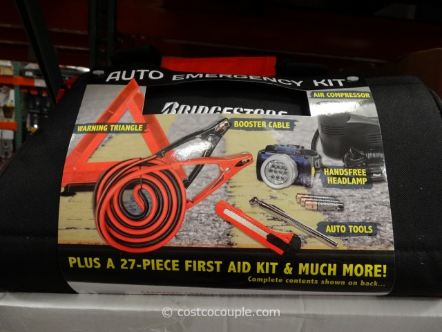 Bridgestone Auto Emergency Kit Costco 2