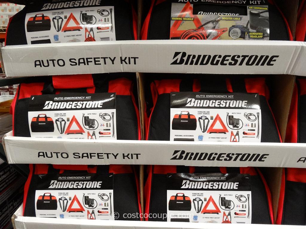 Bridgestone Auto Emergency Kit Costco 3