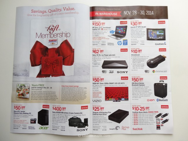 Costco 2014 Black Friday Savings p2