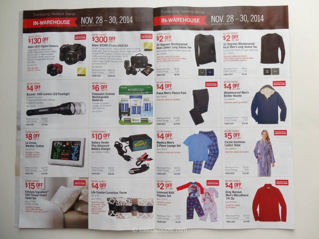 Costco 2014 Black Friday Savings p3