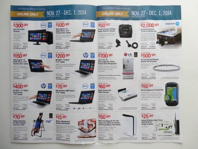 Costco 2014 Black Friday Savings p5