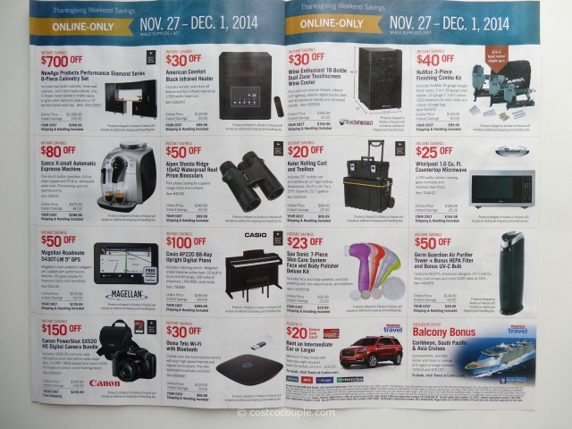 Costco 2014 Black Friday Savings p6