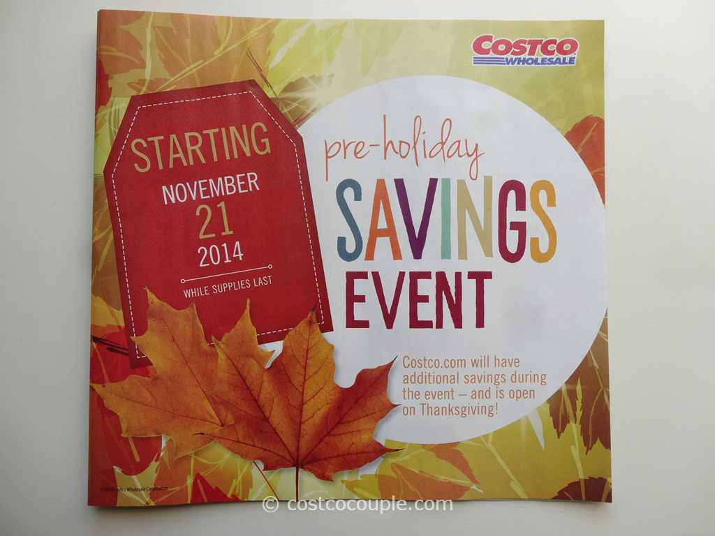Costco 2014 Thanksgiving Savings Book 1