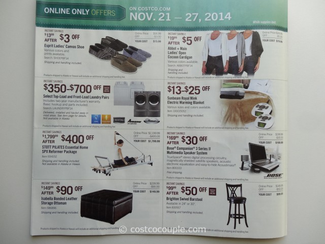 Costco 2014 Thanksgiving Savings Book 12