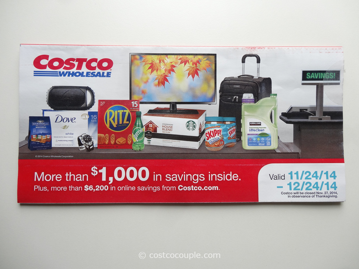 Costco December 2014 Coupon Book 1
