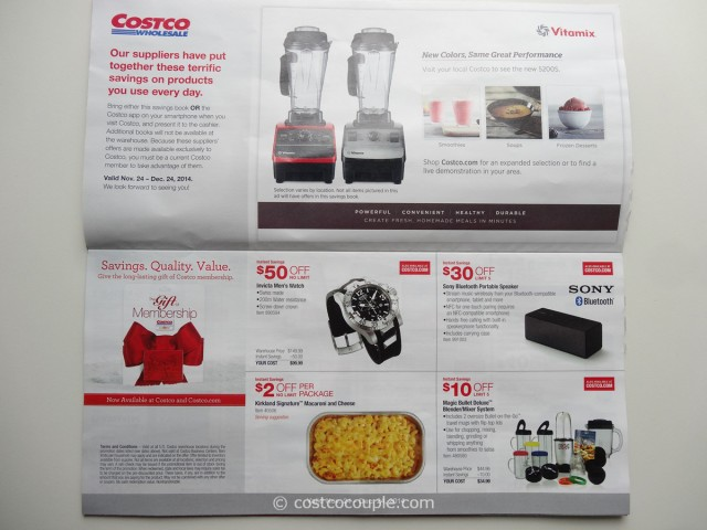 Costco December 2014 Coupon Book 2