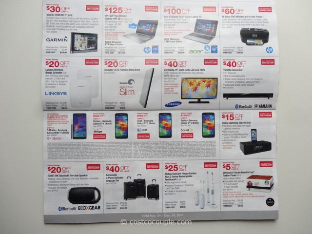 Costco December 2014 Coupon Book 3