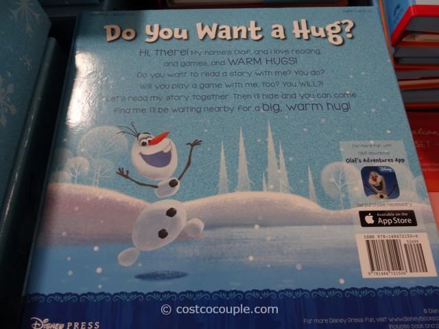 Disney Frozen Hide And Hug Olaf Costco 3