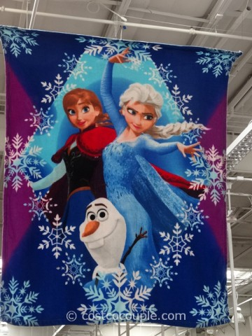 Disney Frozen Licensed Throw Costco 2