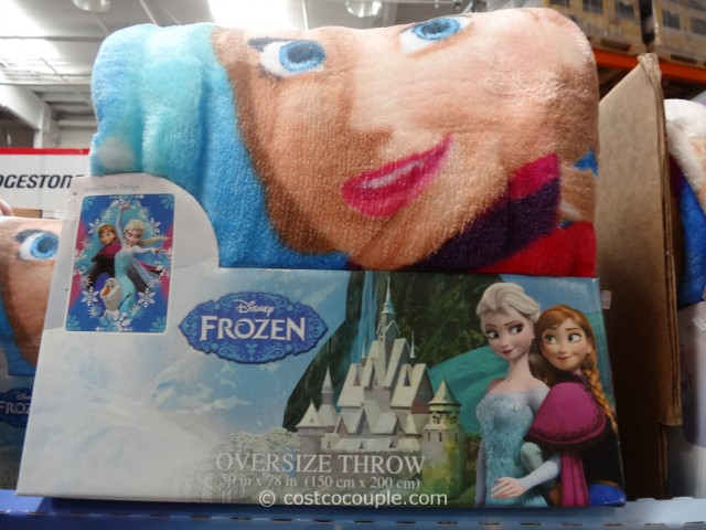 Disney Frozen Licensed Throw Costco 3