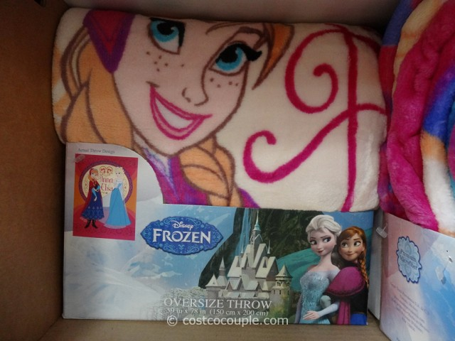 Disney Frozen Licensed Throw Costco 4