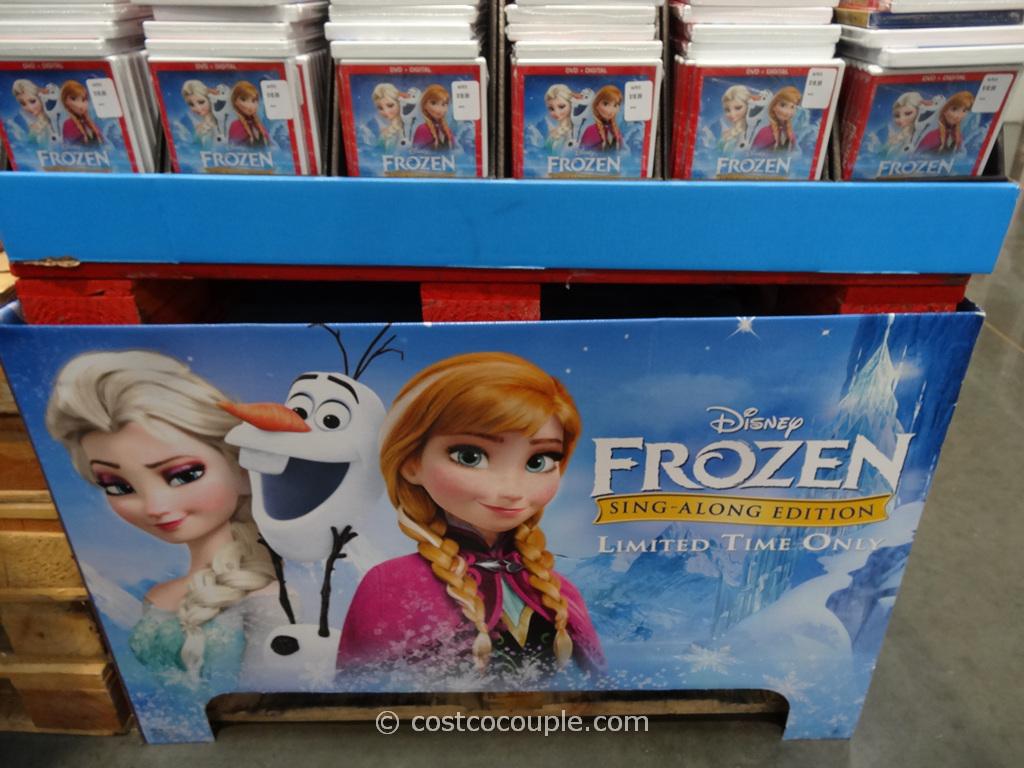 Disney Frozen Sing-Along DVD Costco 2