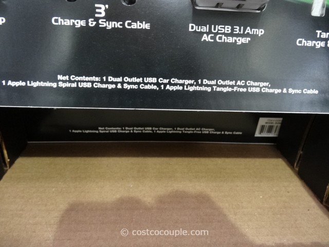 Duracell Lightning Cable Kit Costco 2