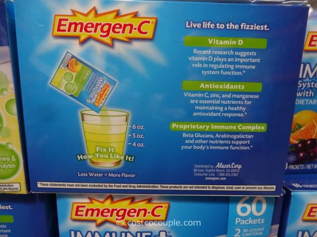 Emergen-C Immune Plus Costco 3