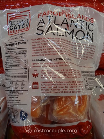 Faroe Island Atlantic Salmon Costco 5
