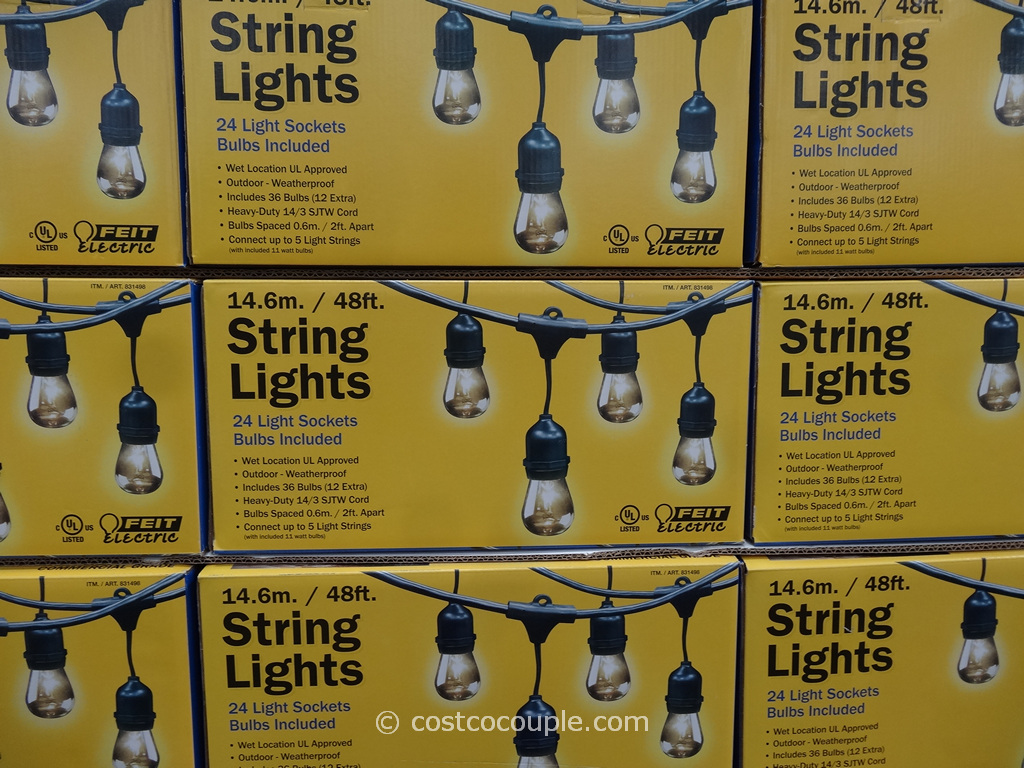 Feit Electric String Lights Replacement Bulbs : lights at costco - 28 images - 24 wonderful outdoor string lights costco canada, feit electric ...