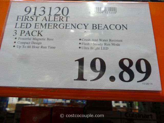First ALert LED Emergency Beacon Costco 1