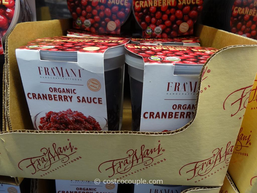 Framani Organic Cranberry Sauce Costco 2