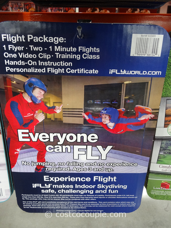 Gift Card iFly Costco 2