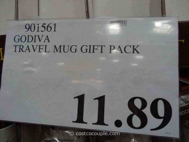 Godiva Travel Mug Gift Set Costco 1