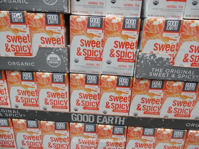 Good Earth Organic Sweet and Spicy Herbal Tea Costco 1
