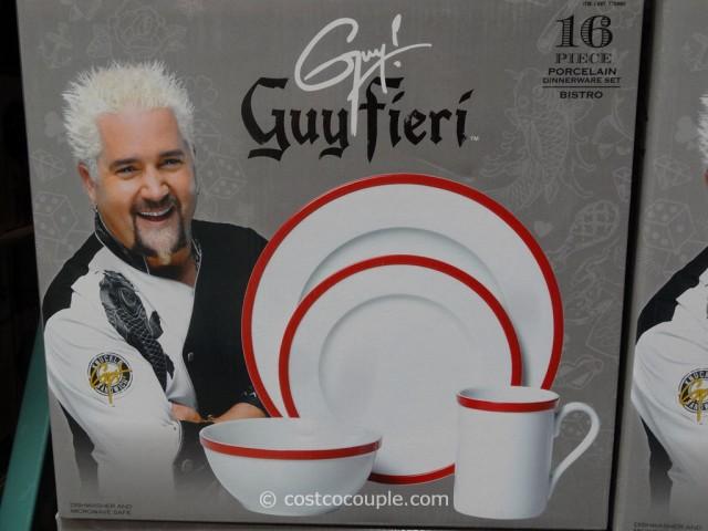 Guy Fieri Porcelain Dinnerware Set Costco 3