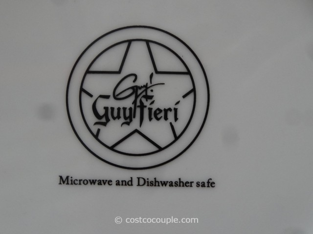 Guy Fieri Porcelain Dinnerware Set Costco 5
