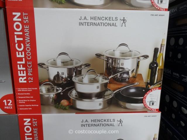 JA Jenckels 12-Piece Reflection Cookware Set Costco 2