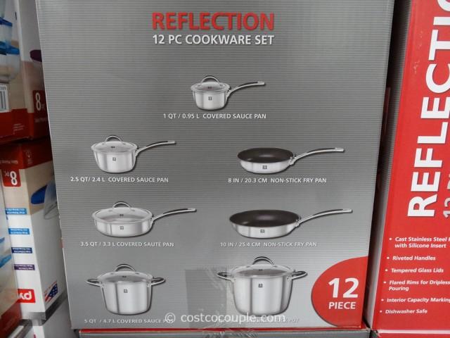 JA Jenckels 12-Piece Reflection Cookware Set Costco 4