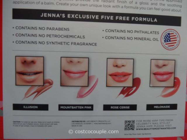 Jenna Hipp Lip Glossary Pout Polish Collection Costco  4