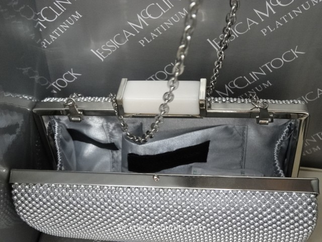 Jessica McClintock Mesh Clutch Costco 4