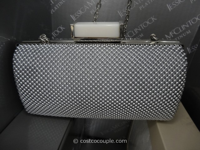 Jessica McClintock Mesh Clutch Costco 5