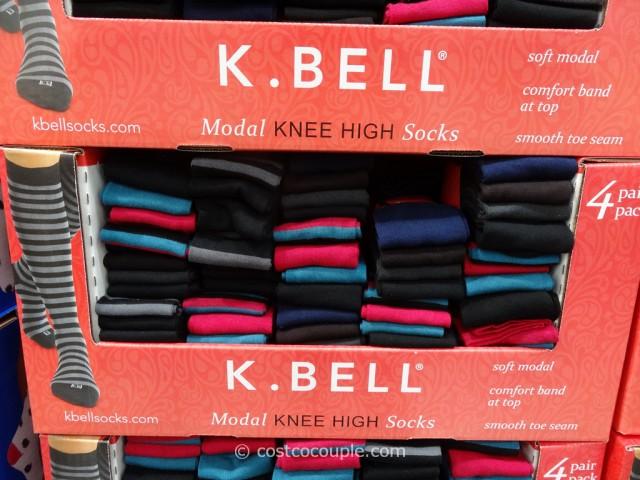 7bc873d8f K Bell Ladies Modal Knee High Socks