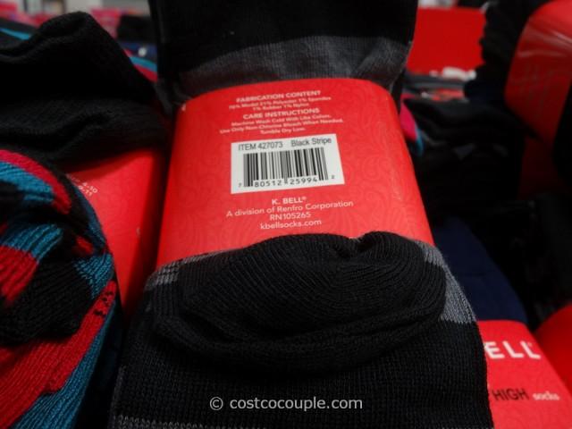 07dc919a9 ... K Bell Ladies Modal Knee HIgh Socks Costco 4 ...