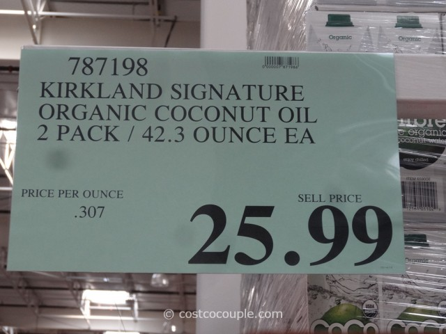 Kirkland Signature Organic Coconut Oil Costco 1