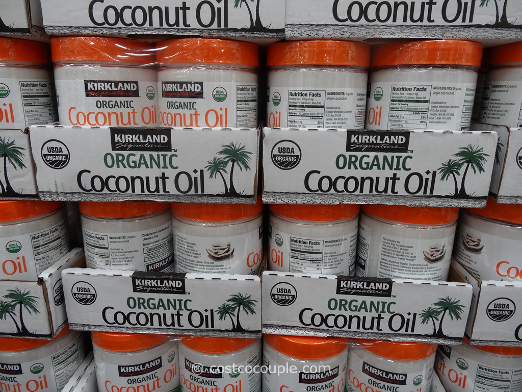 Kirkland Signature Organic Coconut Oil Costco 5