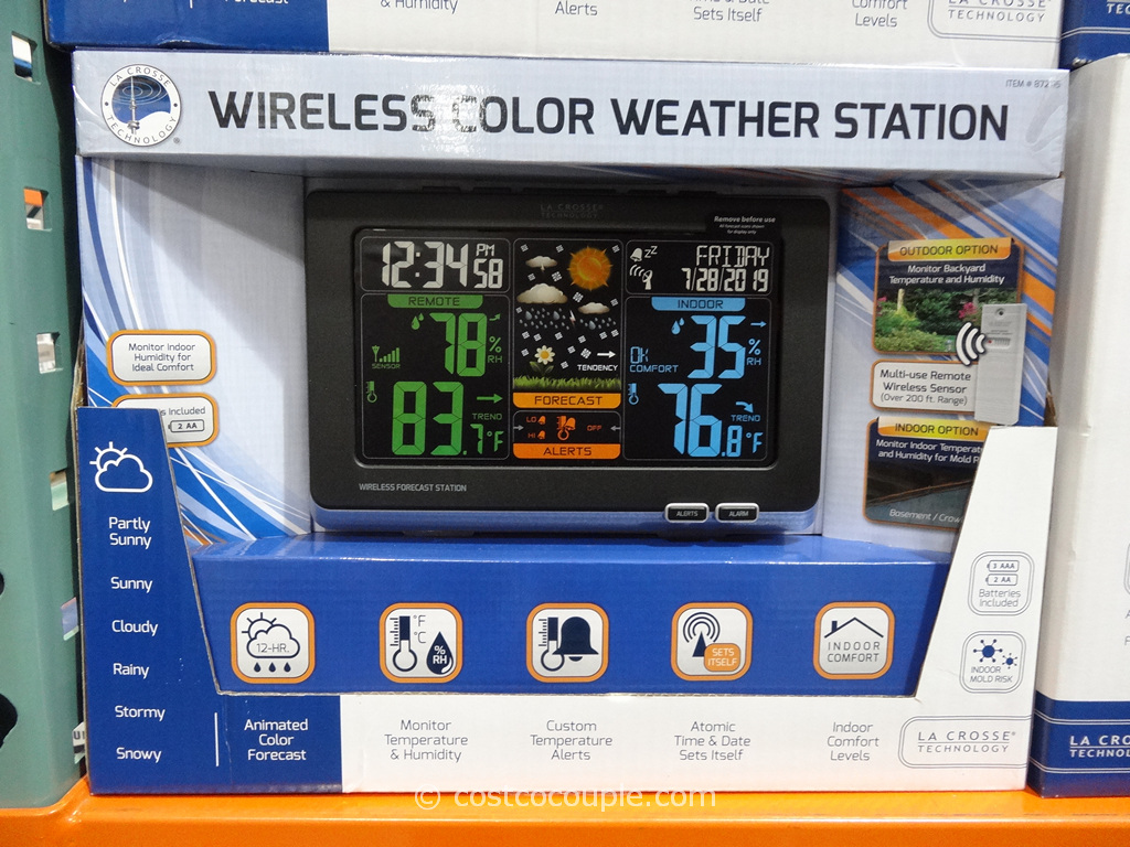 LaCrosse Weather Station Costco 2
