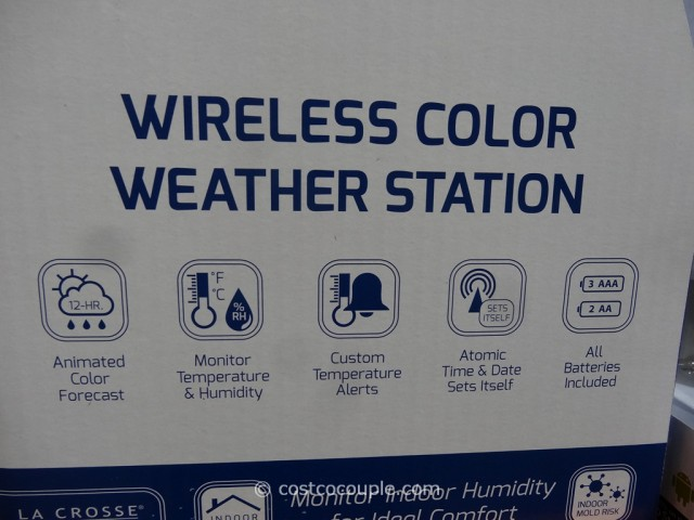 LaCrosse Weather Station Costco 3