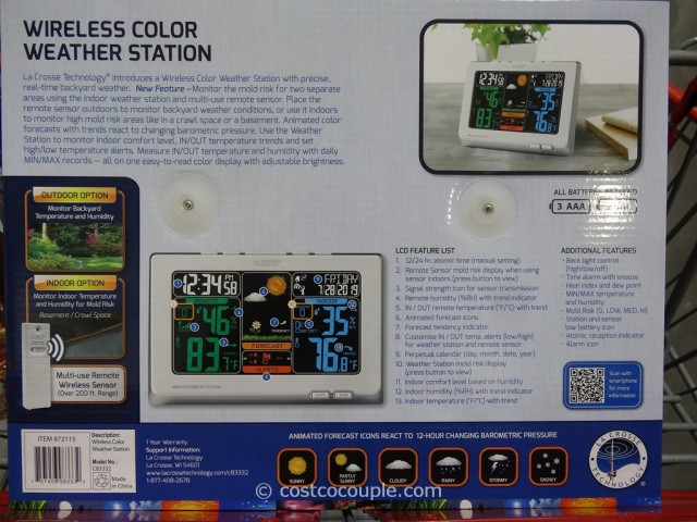 LaCrosse Weather Station Costco 5