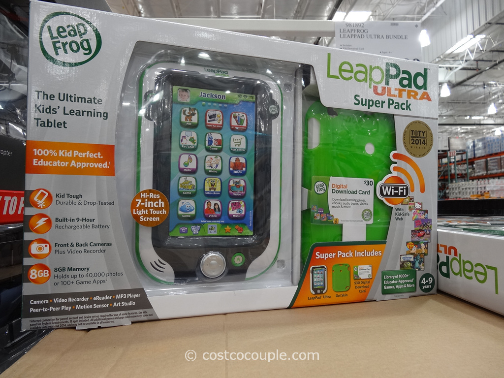 Leapfrog Leappad Ultra Superpack Costco 4