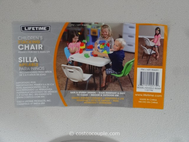 Lifetime Kids Stacking Chair