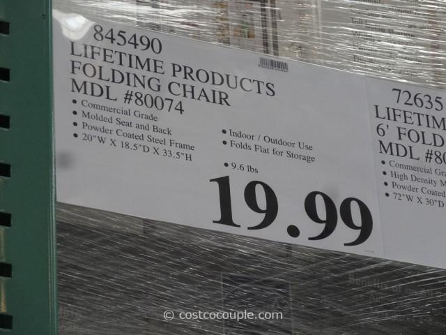 lifetime ultimate folding chair costco 5