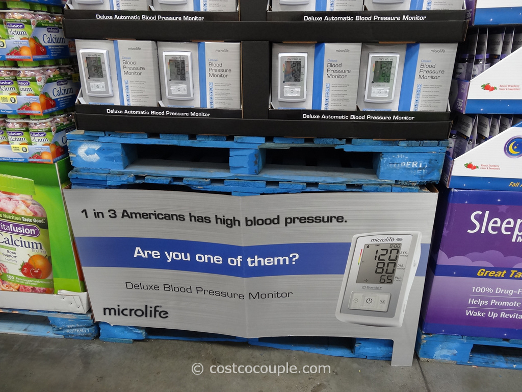 Microlife Deluxe Blood Pressure Monitor Costco 4